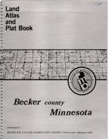 Title Page, Becker County 1980